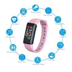 Iotton Fitness Tracker records health indicators such as Blood Pressure, Walking Steps, Calories Burnt& Walking Distance, Heart Rate Monitor Sleep Monitor and so on. Waterproof Fitness Tracker, Heart Rate Monitor, Android Smartphone, Watch Faces, Burn Calories, Blood Pressure, Distance, Walking, Sleep