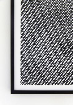 "Hekla sur GoodMorningDesign.fr  SÉRIGRAPHIE ""MIRAGE"""