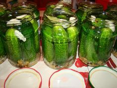 Cristina's world: Castraveti bulgaresti Pickles, Cucumber, Food, Dukan Diet, Essen, Meals, Pickle, Yemek, Zucchini