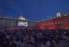 Things To Do Today In London: Wednesday 23 August 2017 | Londonist  summer screen at Somerset House.