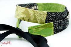 Schwarzer Gürtel vegan / Stoffgürtel aus der Lieblingsmanufaktur, ganz toll zum Aufpeppen von unifarbenen Kleidern!