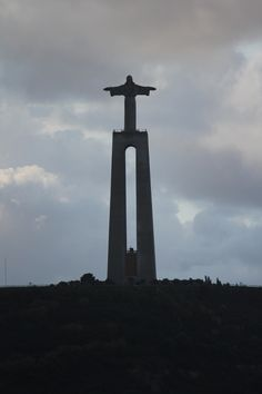 Christ the King Monument in Lisbon, Portugal