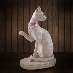 Resin Egypt The Bast Cat Figurine Statue Figure Ancient Egypt Ornament for Decor…