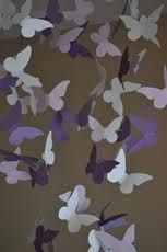 butterfly decorations for girls room