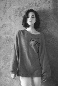 Mizuhara Kiko for Nylon Magazine Hair Inspo, Hair Inspiration, Character Inspiration, Kiko Mizuhara Style, Kiko Mizuhara Bob, Medium Hair Styles, Short Hair Styles, Girl Short Hair, Cut And Style