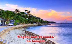 Use o código VIAJE10 e ganhe desconto na Groupon #viajar #viagem #pacotes #promoção #groupon #desconto