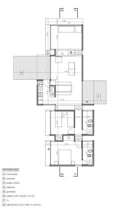 "of AV House / BAK Architects - 15 AV House / BAK Architects. also pinned to ""vacation homes"". also pinned to ""vacation homes"". Layouts Casa, House Layouts, Architecture Plan, Interior Architecture, Building Plans, Building A House, Villa Plan, Modern House Plans, Prefab"