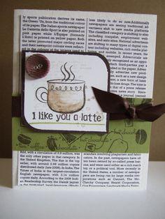love it a latte...cute gift idea for Patrick