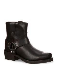 DURANGO Oiled Black Harness Boot