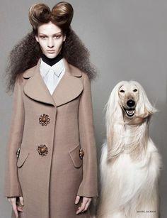 Daniel Jackson / Vogue UK August 2012.