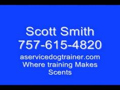 Diabetic Alert Dog Training Videos - Part 1