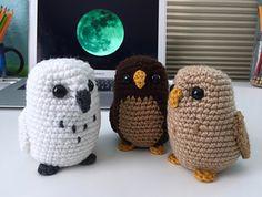 Amigurumi owl free pattern