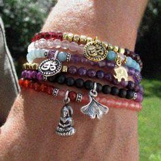 Little Doña bracelet  sugilite jasper and by DonaQuichotteJewels, $24.00