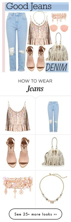 """High Waisted Jeans"" by krskinner on Polyvore"