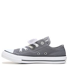 Converse Women's Chuck Taylor All Star Double Tongue Low Top Sneakers (Thunder /Casino) Converse Low Tops, Converse Style, White Converse, Converse Shoes, Converse Chuck Taylor All Star, Chuck Taylor Sneakers, Cute Shoes, Chuck Taylors, Wedge Shoes