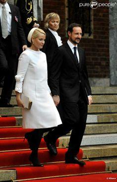 princesse mette marit et prince haakon de norvege