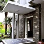 Desain teras rumah minimalis depan rumah