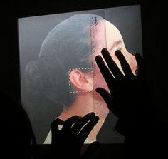 Guadalupe Aguiar - Historia Cínica. Detalle: audiometría. (2005) - 200 cm. x 130 cm. x 25 cm.