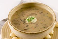 Supa mediteraneana cu ciuperci