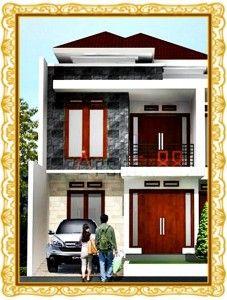 model sederhana 1 tingkat rumah minimalis fasad desain