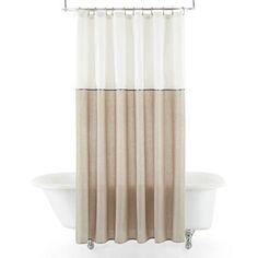 30 (44) jcpenney.com | Liz Claiborne® Chessa Shower Curtain