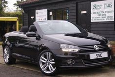 2011 Volkswagen Eos 2.0 TDI BlueMotion Tech Sport 2dr DSG Convertible Diesel Metallic Black for sale http://www.simonshieldcars.co.uk/used/volkswagen/eos/20-tdi-bluemotion-tech-sport-2dr-dsg/ipswich/suffolk/16608402