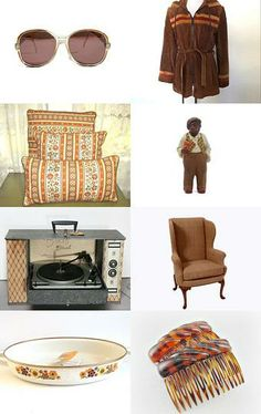 All in the Family - a vintage 1970s treasury collection, featuring shops from the Etsy Pickers & Sellers Team #EPSTeam