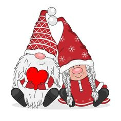 Valentine Decorations, Valentine Crafts, Valentine Picture, Elves And Fairies, Fairy Art, Drawing For Kids, Christmas Pictures, Christmas Snowman, Cartoon Wallpaper