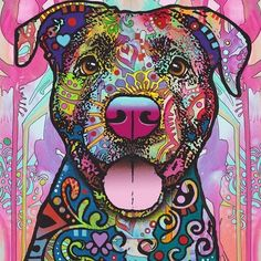Pit Bull Puppies The Unmistakable Pit Bull Limited Edition Print Dog Paintings, Dog Portraits, Pitbull Terrier, Limited Edition Prints, Dog Art, I Love Dogs, Bunt, Pitbulls, Art Drawings