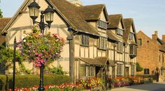 Shakespeare's home in Stratford Upon Avon