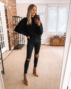 Trendy Fall Outfits, Winter Fashion Outfits, Cute Casual Outfits, Fall Winter Outfits, Autumn Winter Fashion, Winter Style, Stylish Outfits, Casual Christmas Outfits, Everyday Casual Outfits