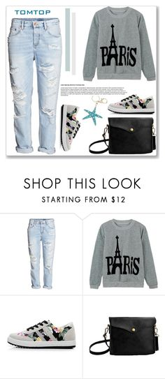 """""""TOMTOP+ 23"""" by amra-mak ❤ liked on Polyvore featuring H&M, tomtop and tomtopstyle"""