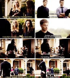 "#TheOriginals 2x09 ""The Map of Moments"" - Hayley, Klaus, Elijah and Rebekah"