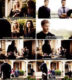 "#TheOriginals 2x09 ""The Map of Moments"" - Hayley, Klaus, Elijah and Rebekah"