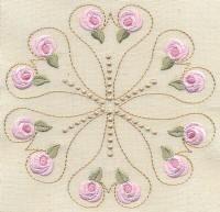 Bullion Rose Quilt 1 - Artisti