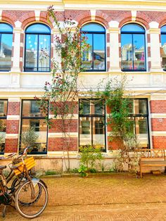 Amsterdam in spring 😍 🇱🇺⛵️✈️🏡🚲🌷 ✖️✖️✖️ ______________________________________________ . Living In Amsterdam, Amsterdam City, Amsterdam Pictures, Spring Is Here, Travel Aesthetic, Holland Europe, Travel Essentials, Netherlands, Around The Worlds