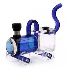 Acrylic waterpipe - American little train - Glass Bongs - Bongs and Waterpipes - Smoking Pipes - Grasscity.com
