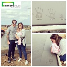 Congratulations to our lovely clients Stephanie, Andrew & baby Aurora on their slab pour. Stroud Homes Sydney South West can't wait to get your beautiful family into your dream home! #stroudhomes #feelslikehome #newhome #blackandwhitequotes #happy #exciting