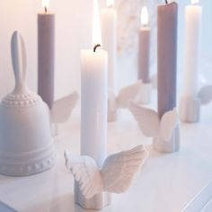 love the angelwings candle holders!