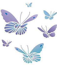 Flower Stencils Printable   stencil stencils butterfly stencils and lettering number stencil ...