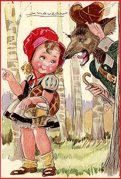 Little Red Riding Hood by Mabel Lucy Atwell