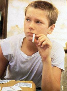 River Phoenix in Stand By Me played one of my favorite characters in movie history. Strong, steady, compassionate, and caring, Chris Chambers is a character that touches hearts and makes you root for him even after the movie has finished. RIP River Phoenix