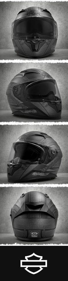 Ours alone. | Harley-Davidson Metallic Graphic Sun Shield Full-Face Helmet