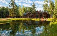 SOLD IN 2015 || Linger Longer River Ranch ~ 72 Acre Property || Two Enhanced Creeks || Snake River Frontage || Teton Views || 6 bedroom Guest Home || Rec Home || Listed for $22,000,000 || Sale Price Undisclosed || MLS #12-1988 || Jackson Hole, Wyoming