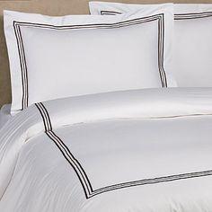 Bellino Fine Linens Tivoli Standard Pillow Sham In Chocolate King Bedding Sets, King Duvet, Queen Duvet, King Pillows, Pillow Shams, Best Duvet Covers, White Duvet, Bed Linen Sets, Fine Linens