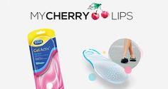 Participa no passatempo do My Chderry Lips e habilita-te a a ganhar 1 dos 5 pares de palmilhas GelActiv da Scholl!