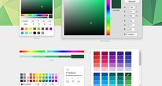 React Color offers Free Color Picker UIs Duplicating Sketch, Photoshop, and More