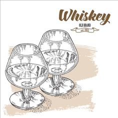 Whiskey with glass cup hand drawn vector 01 - https://www.welovesolo.com/whiskey-with-glass-cup-hand-drawn-vector-01/?utm_source=PN&utm_medium=welovesolo59%40gmail.com&utm_campaign=SNAP%2Bfrom%2BWeLoveSoLo