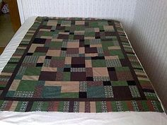 quilt patterns for men | Man Cave Quilts Masculine Quilt Patterns Book Quilting Hunting