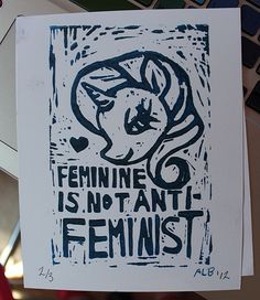 Exactly.  Part of the feminist movement is allowing women to be who they want to be- not demanding conformity like patriarchy does. So people like me who adore dressing up and wearing cosmetics are no less a feminist than those who don't.  My actions make me a feminist, not my damn appearance.
